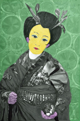 Geisha with Ball